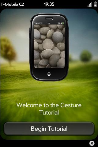Gesture tutorial